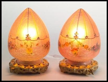 Handel Egg Lamps