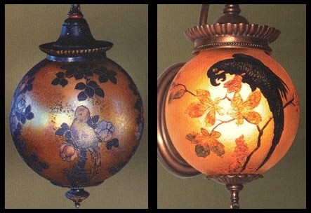 Handel Hanging Globes