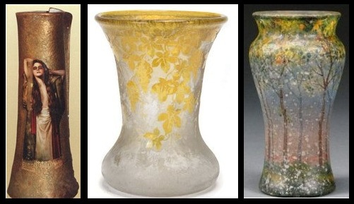 Handel Vases and Jars