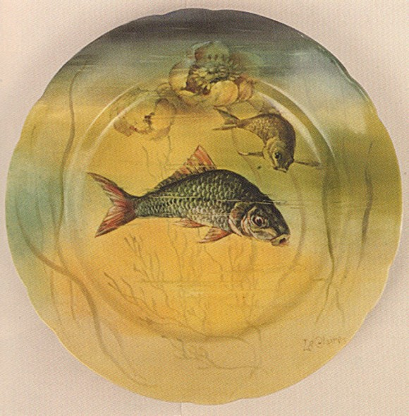 Handel Ware Plate with Fish