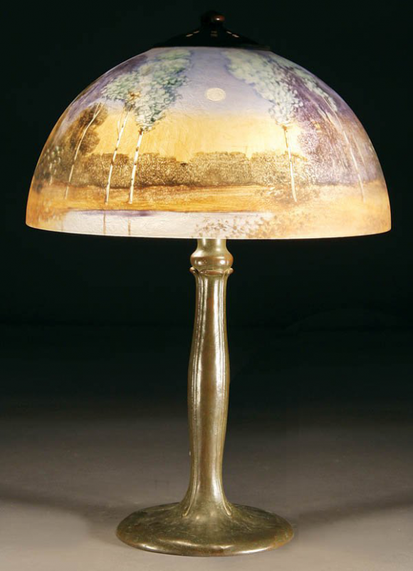 Handel Lamp # 4600 | Value & Appraisal