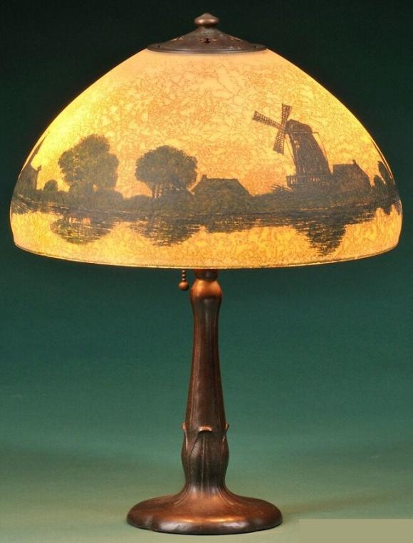 Handel Lamp # 5465 | Value & Appraisal