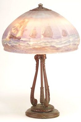 Handel Lamp # 5887 | Value & Appraisal