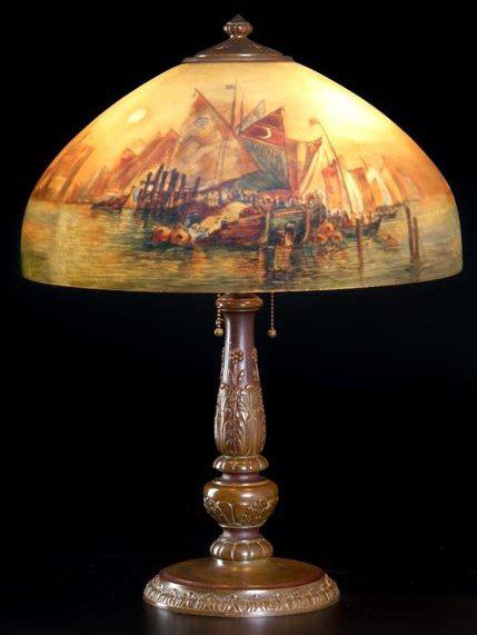 Handel Lamp # 5935 | Value & Appraisal