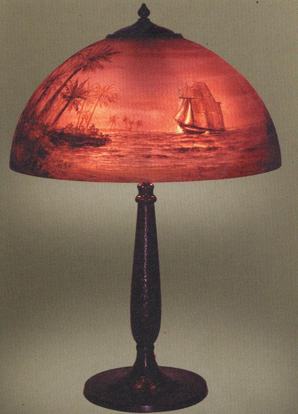Handel Lamp # 6738   Value & Appraisal