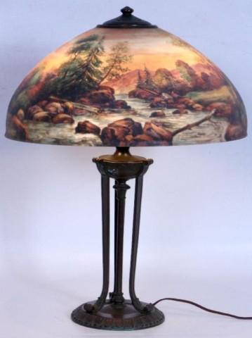 Handel Lamp # 6752   Value & Appraisal