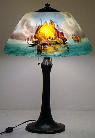 Handel Lamp # 7135 | Value & Appraisal