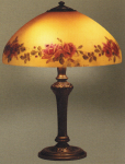 Handel Lamp with Blooming Roses