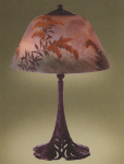 Handel Lamp with Wheat Stalks