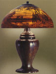 Handel Lamp with Dry Pond