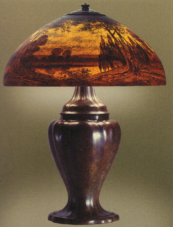 Handel Lamp with Dry Pond