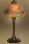 Handel Lamp with Green Mountain