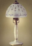 Handel Lamp with Lavender