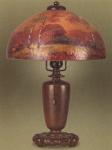 Handel Lamp with Autumn Trees