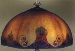 Handel Lamp with Arabian Shade