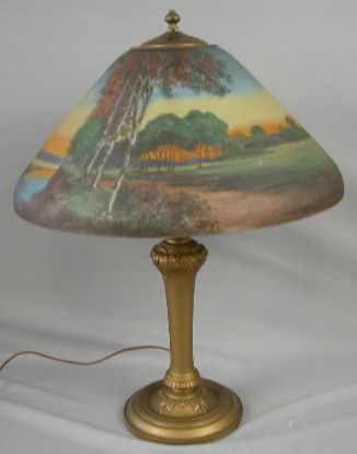 Handel Lamp with Stream and Path
