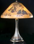 Handel Lamp with Oak Leaves and Acorns