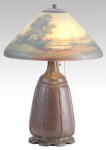 Handel Lamp with Trees and Lake