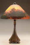 Handel Lamp with Lake Reflection