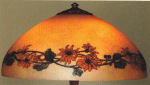 Handel Lamp with Daisies