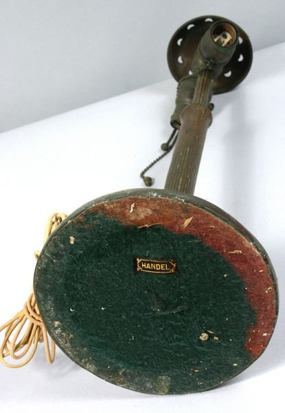 Handel Base Showing Felt and Cloth Handel Tag