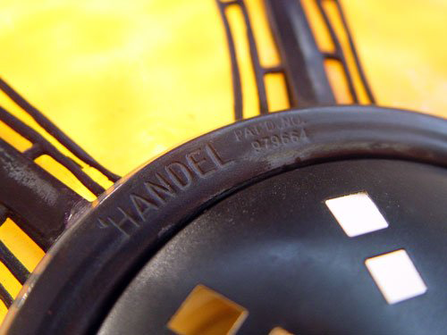 Handel Shade Showing Handel Pat'd NO. 979664