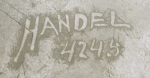 Handel Vase Mark with Vase Number