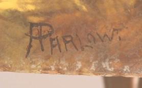 Handel Lamp Shade A Parlow Signature