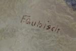 Handel Shade with F. Gubisch Signature
