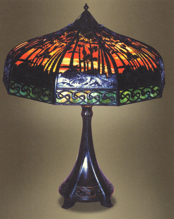 Handel Teroca Lamp Number 5066