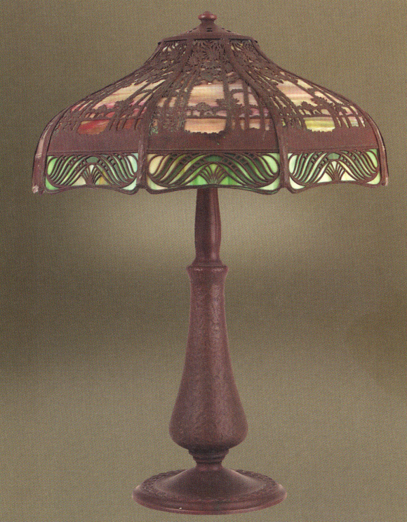 Handel Teroca Lamp Number 5285