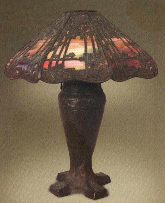 Handel Teroca Lamp Number 5355