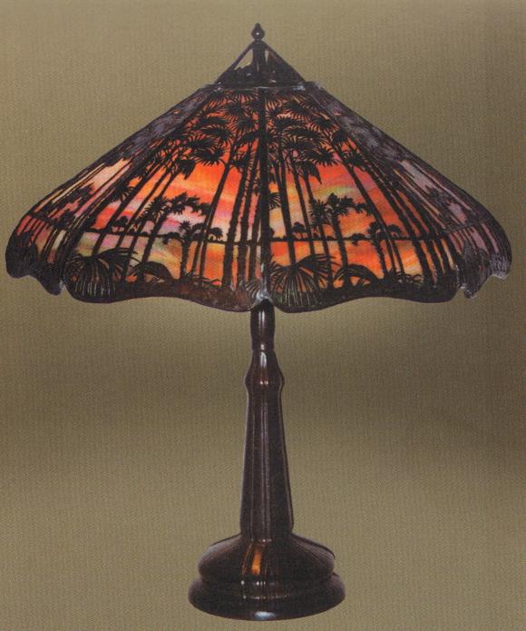 Handel Teroca Lamp Number 5409