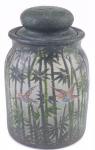 Not Numbered - Handel Jar with Flying Birds