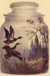 Not Numbered - Handel Jar with Mallard Ducks
