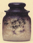4205 - Handel Jar with Pine Tree Leaves
