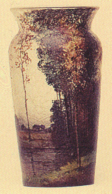 4208 – Handel Vase with Ducks and Trees
