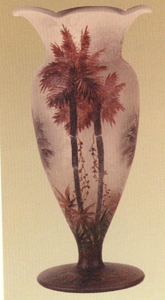 4214 – Handel Vase with Palm Tree