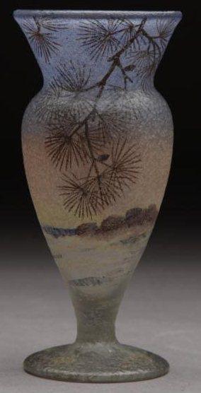 4215 – Handel Vase with Pine Trees