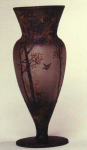 4216 - Handel Vase with Flying Duck