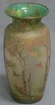 4217 - Handel Vase with Ducks and Trees