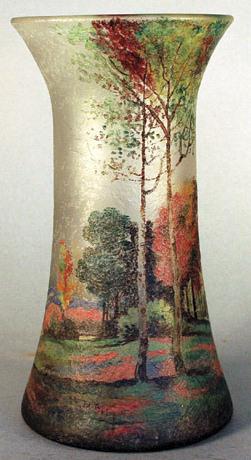 4219 – Handel Vase with Seasonal Trees