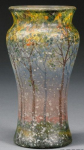 4220 - Handel Vase with Snow and Trees