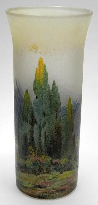 4221 – Handel Vase with Cedar Furs