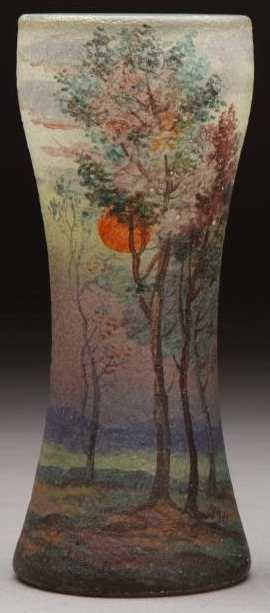 4222 – Handel Vase with Sun and Trees