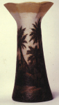 Not Numbered - Handel Vase with Palm Trees
